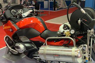Bmw R 1250 Rt P Firexpress Motorrad Fur Die Feuerwehr