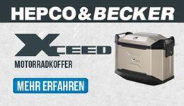 Hepco und Becker Koffer
