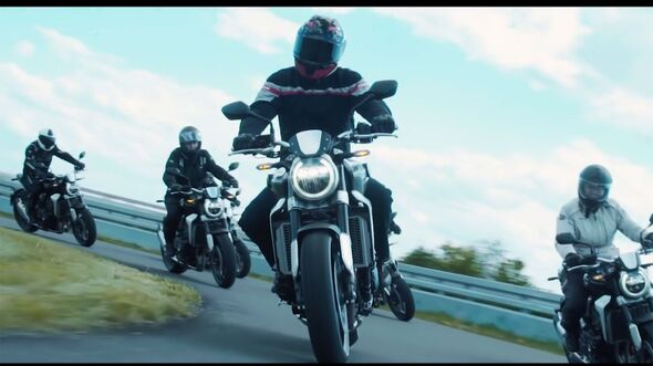 Honda Leser-Testride Honda CB 1000 R Neo Sports Cafe Video