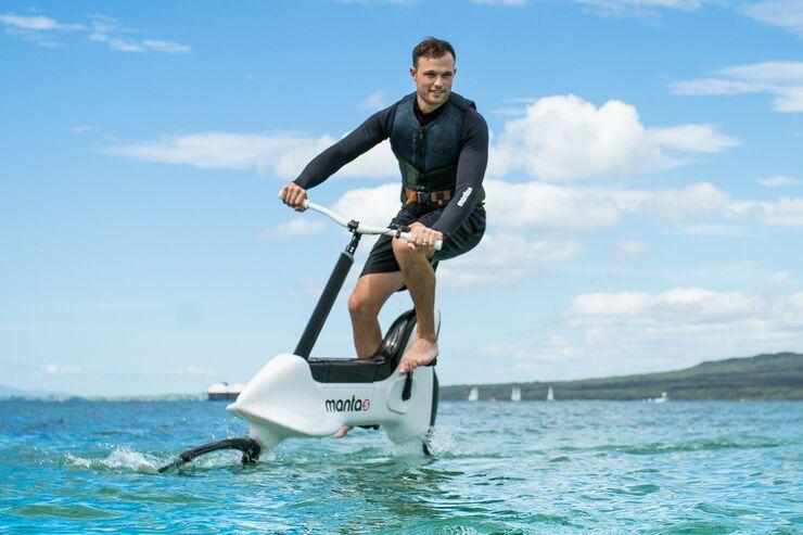 Manta5 Hydrofoiler XE-1 - E-Bike fürs Wasser