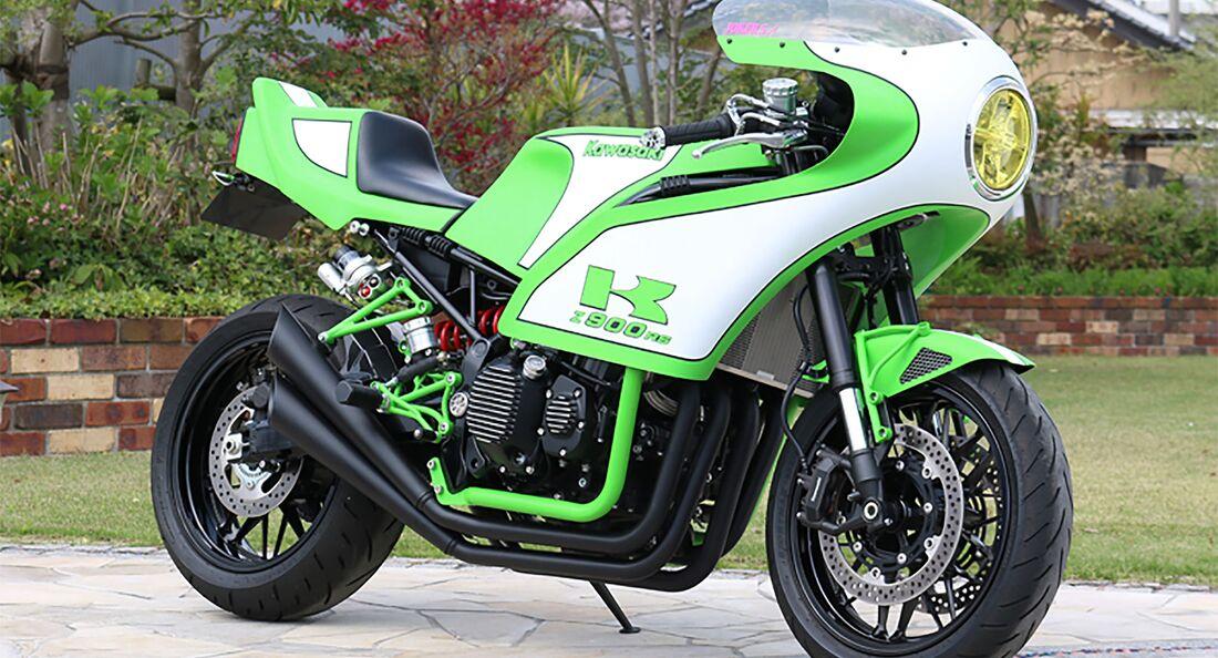 PMC Kawasaki Z900RS 70's Monster Cafe Racer