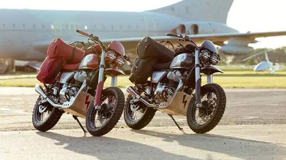 """Royal Enfield """"Malle Rally Royale"""""""