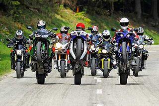 99469535d64 Test  Acht Bikes für die Landstraße - MOTORRADonline.de