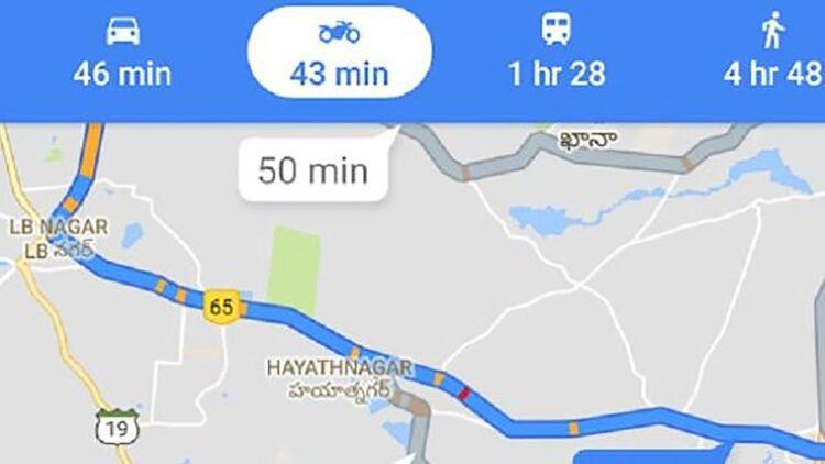 Google Maps mit Motorrad-Funktion - MOTORRADonline.de on